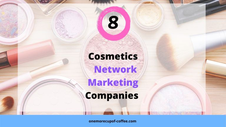 Assortment of different make up to represent cosmetics network marketing companies.