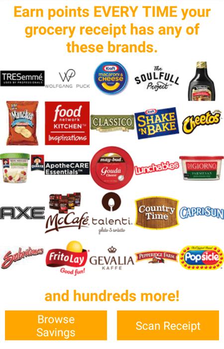 Fetch Rewards Brands