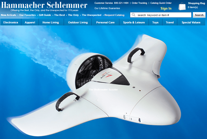 Hammacher Schlemmer Affiliate Program Review
