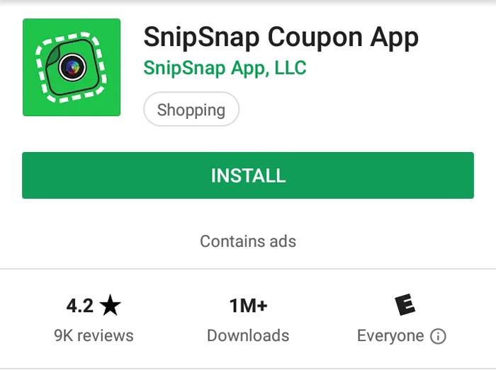 Can You Really Make Money With The SnipSnap Coupon App?