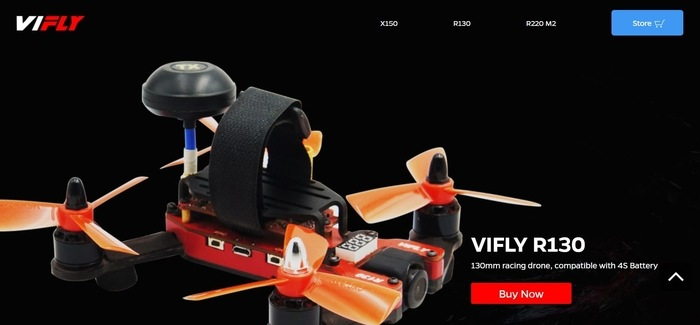 screenshot of the affiliate sign up page for VIFLY