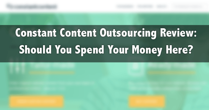 constant content outsourcing review