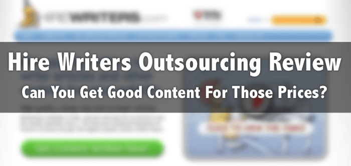 hire writers outsourcing review prices