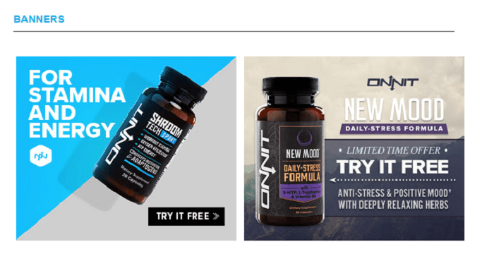 Onnit Banners