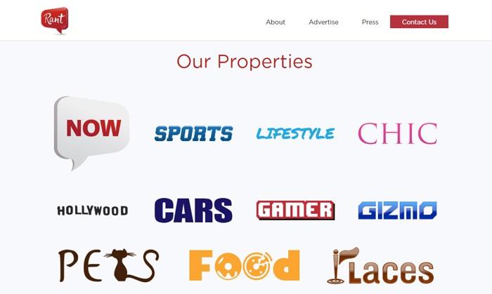 Rant Inc Properties