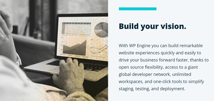 WP Engine Build Your Vision