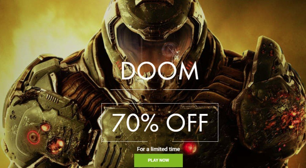 daily game sale home page