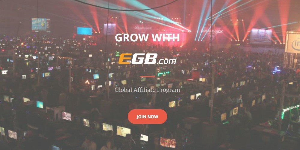 egaming bets affiliate sign up page