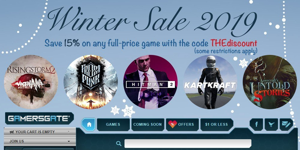 gamersgate home page