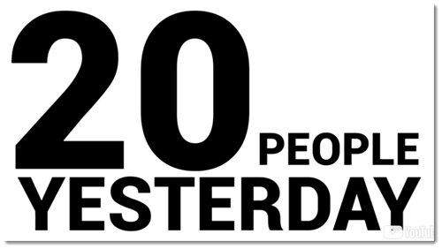 20 People Earned Yesterday