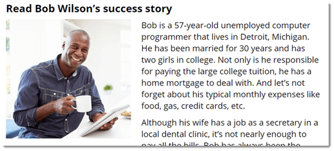 Bob Wilson Success Story