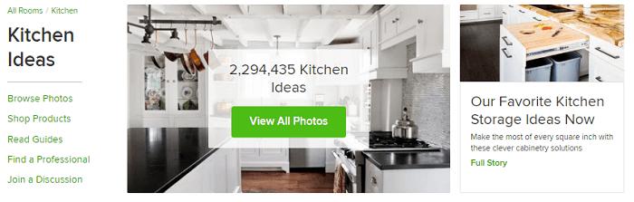 Houzz Kitchen Ideas