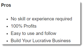 No skill or experience required