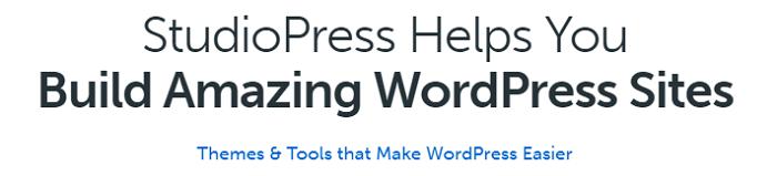 StudioPress WordPress