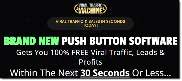 Viral Traffic Machine Does Provide Traffic, Kind Of