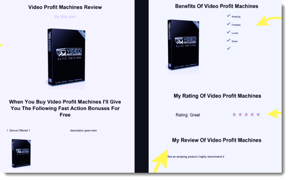 Visual Appearance of Reviews