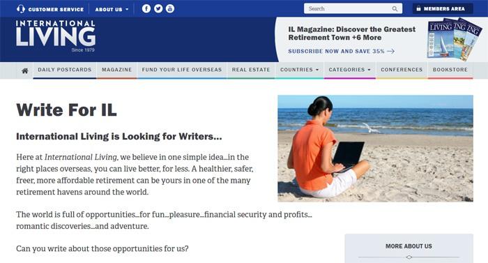 Write For International Living