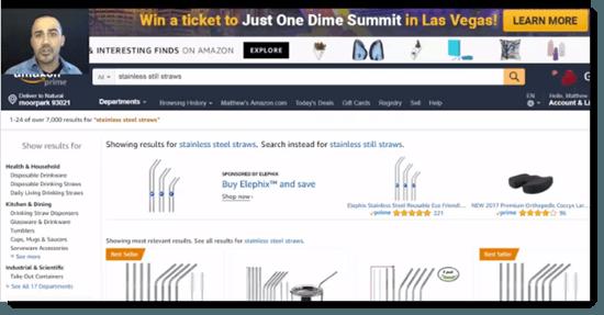 Amazon Secrets Sales Video