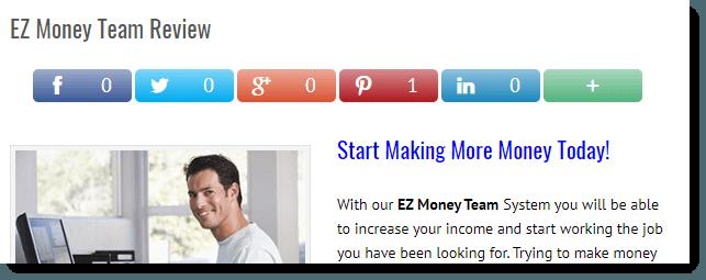 EZ Money Team Review