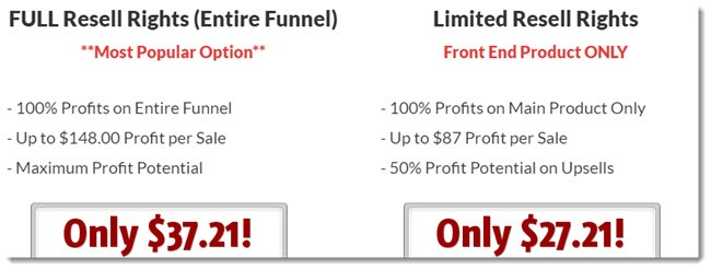 Funnel Resell Rights