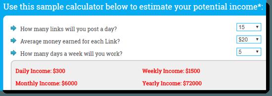 Income Potential Calculator