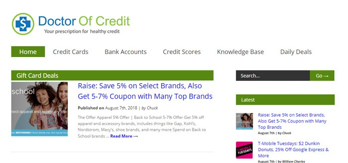 Make Money Doctor Of Credit