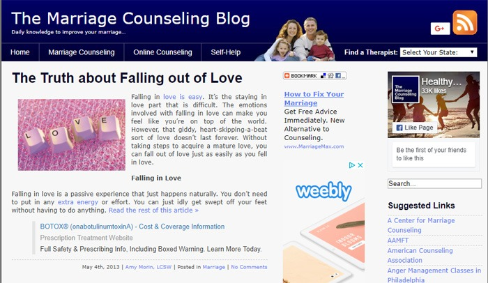 Make Money Marriage Counseling Blog