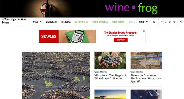 Make Money WineFrog