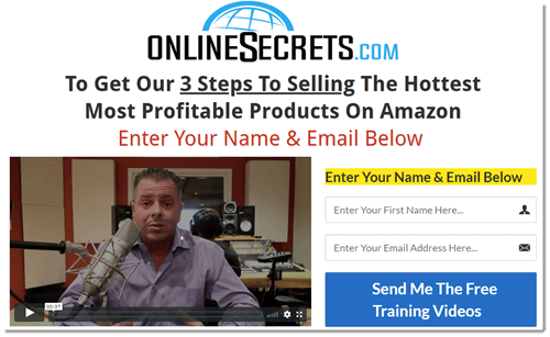 Online Secrets Website
