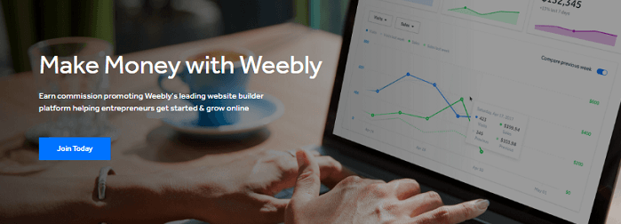 Weebly Affiliate Program Join Today
