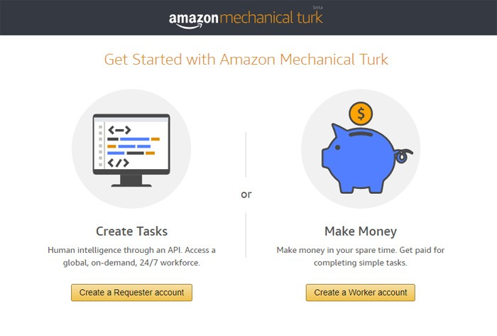 Getting Started With Amazon Mechanical Turk