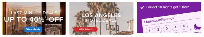Hotels.com Hotel Deals