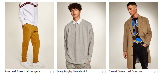 Topman Mens Fashion Products