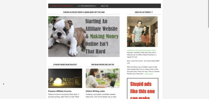 original website home page one more cup of coffee