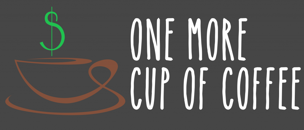 one more cup of coffee logo
