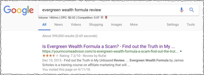 top result evergreen wealth formula from yourincomeadvisor