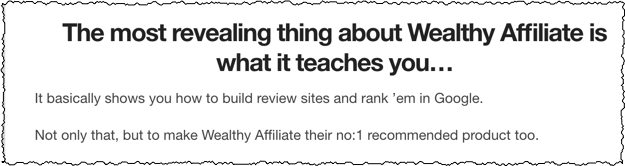 wealthy affiliate reviews number 1
