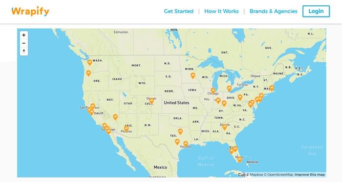 Wrapify Map
