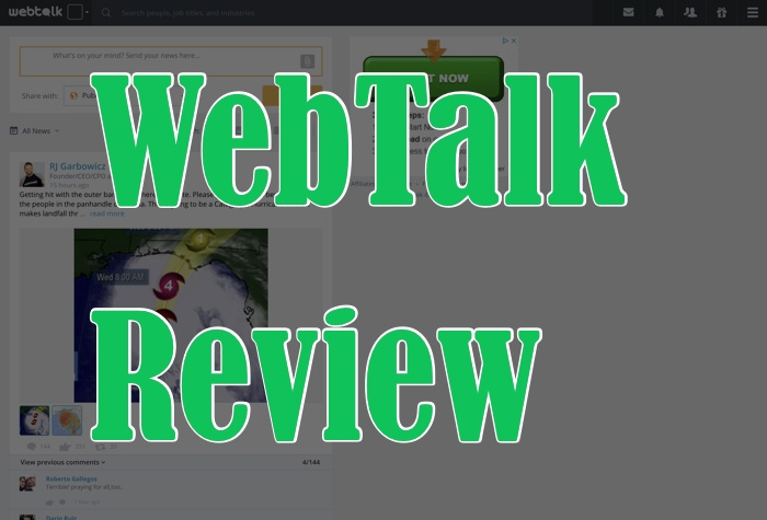 Should WebTalk Be A Part Of Your Online Business Plan?