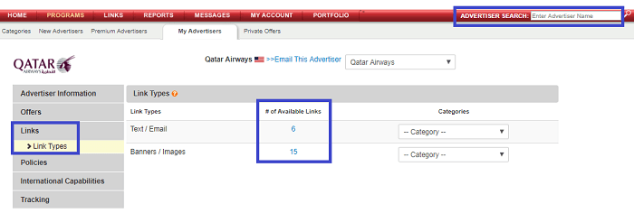 Join the Qatar Airways Affiliate Tools