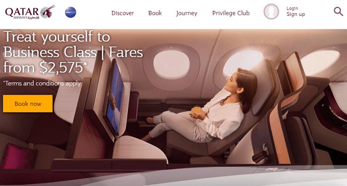 Qatar Home Page