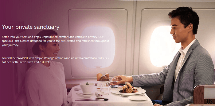 Qatar Airways Private Flight Experience