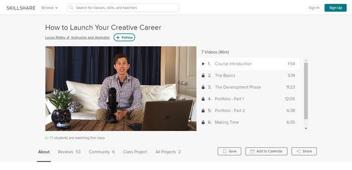 Skillshare video quality