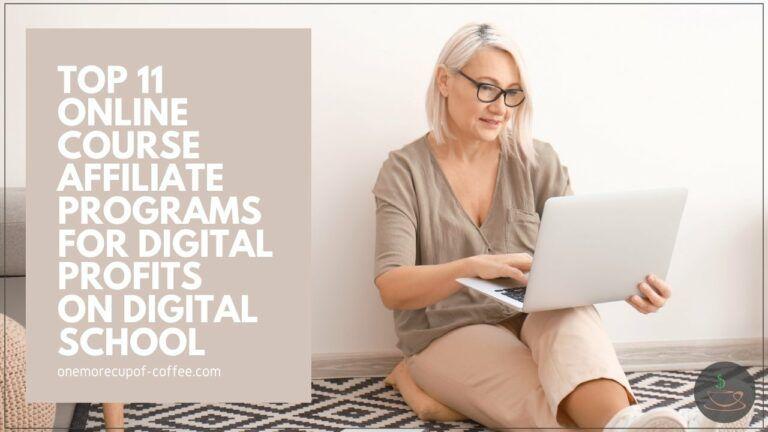 Top 11 Online Course Affiliate Programs For Digital Profits On Digital School featured image