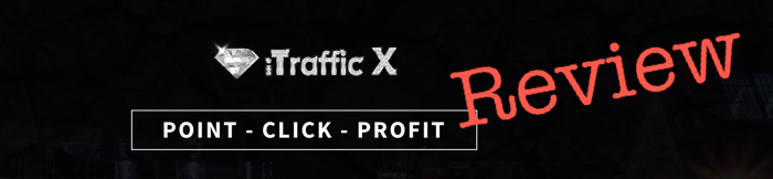screenshot of iTraffic X logo