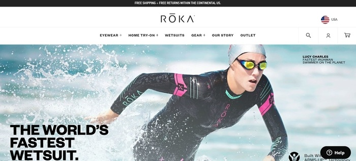 screenshot of the affiliate sign up page for Roka