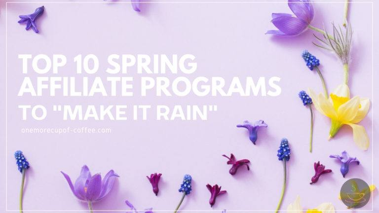 Top 10 Spring Affiliate Programs To _Make It Rain_ featured image