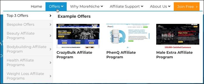 moreniche offers
