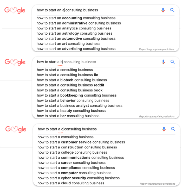 trending topics keyword research