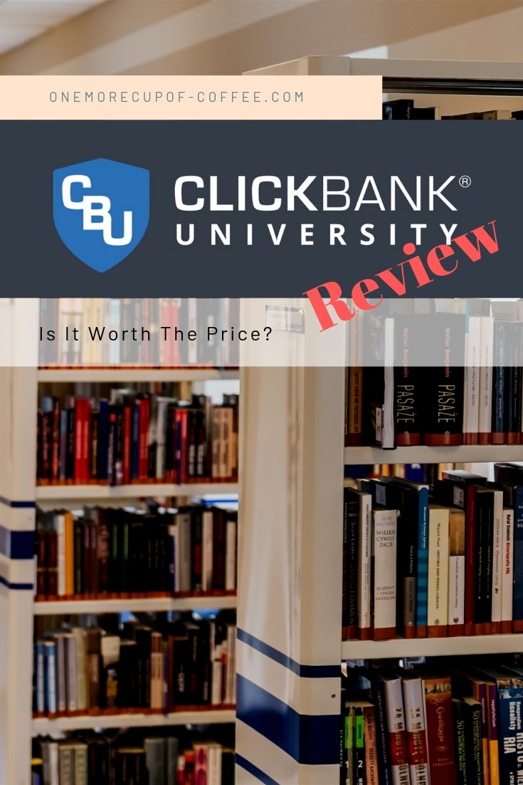 "university books and Clickbank logo with the words ""review"" to represent this Clickbank University Review"